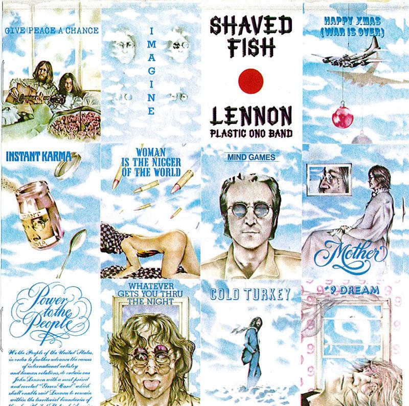 Cd for John lennon shaved fish