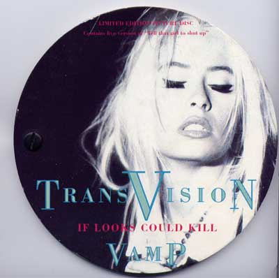 Transvision Vamp Limited Edition Interview Picture Disc